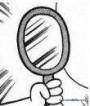 改良型奇妙鏡(增加鏡手鏡版,フエルミラーコンパクトタイプ)