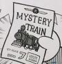 神祕列車預售票(ミステリー列車のキップ)