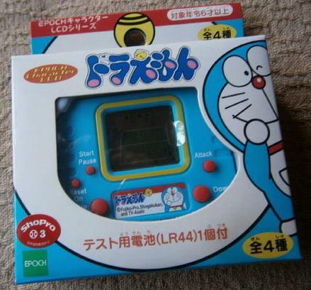 EPOCH哆啦A夢角色LCD系列遊戲(エポック社キャラクターLCDシリーズ ドラえもん)