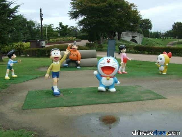 哆啦A夢主題公園 專屬網頁