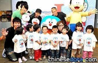 [台灣] 哆啦A夢40周年 服飾品牌做公益