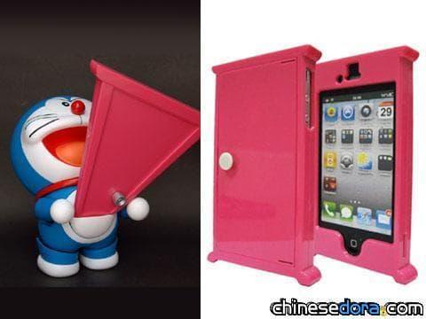 """[日本] 哆啦A夢""""iPhone任意門""""? 讓手機變成任意門"""
