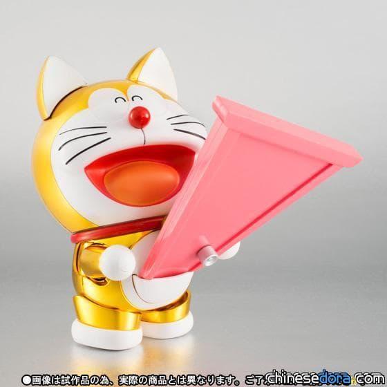 [日本] 誕前100年紀念! 鍍金加工哆啦A夢模型