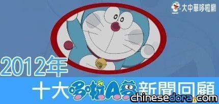 [新年特企] 2012 年十大哆啦A夢新聞回顧
