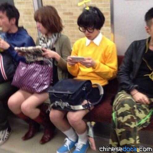 [日本] 大雄來搭電車?! 網友瘋傳 推特熱議