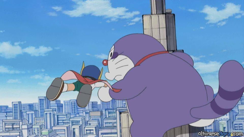[日本] 哆啦A夢生日特別篇動畫:哆啦A夢VS小超人帕門