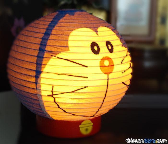 [日本] 哆啦A夢可愛大頭化身提燈! 日本網友超過4顆星高評價
