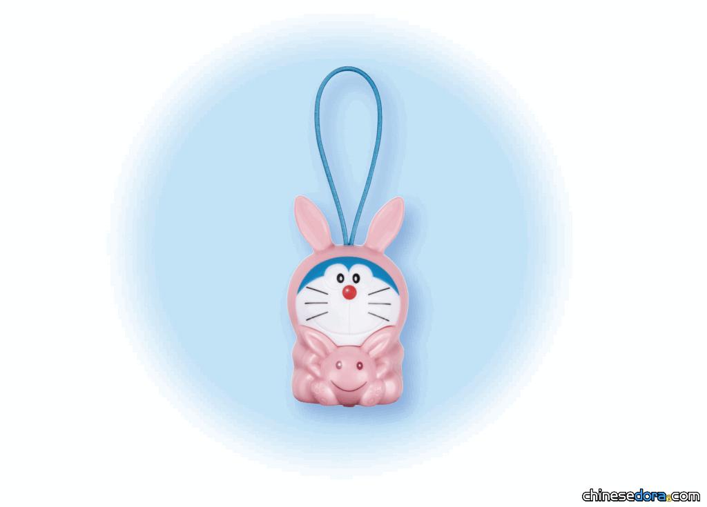 [日本] 《電影哆啦A夢:大雄的月球探測記》入場禮品:「彈跳前進!月兔哆啦」