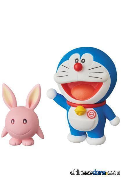 [日本] 《大雄的月球探測記》UDF模型3月上市:哆啦A夢與月兔、大雄與野比兔