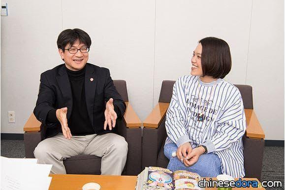 [日本] 麥原伸太郎與辻村深月接受《快樂快樂》專訪 談《月球探測記》與哆啦A夢