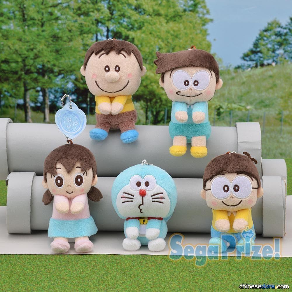 [日本] 二頭身的哆啦A夢超卡哇伊~SEGA「哆啦A夢 &y♡u 好朋友鑰匙圈吉祥物」4月上市