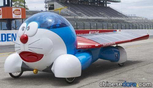 [日本] 藤子老師親自設計的太陽能車「太陽哆啦號」,被送給日本汽車博物館了