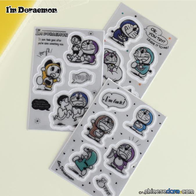 [日本] FLOWERING推出「I'm Doraemon」哆啦A夢反光貼紙 自己製作一個哆啦A夢小物吧