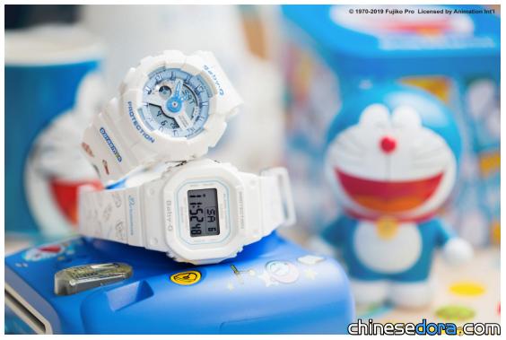 [大陸] 慶BABY-G錶款25週年 哆啦A夢「記憶探索」系列手錶即將開賣