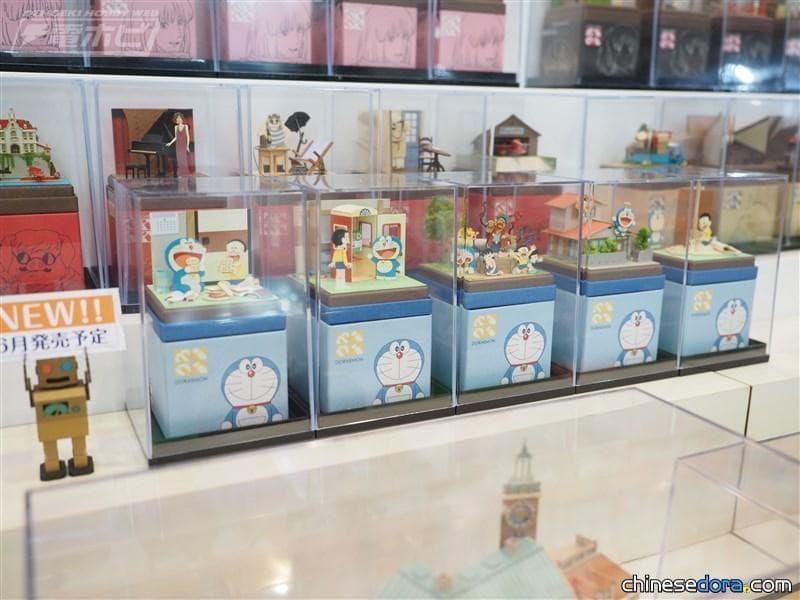 [日本] 最新5款哆啦A夢「Miniatuart」迷你3D紙模型,預計6月推出!