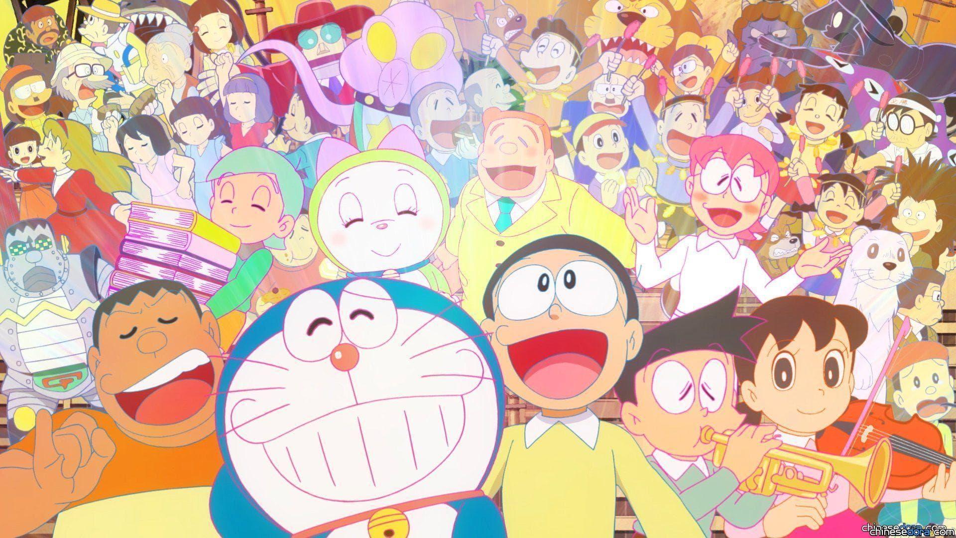 [日本] 改時段後的《哆啦A夢》今天播出! 主題曲部分靜態圖片搶先釋出!