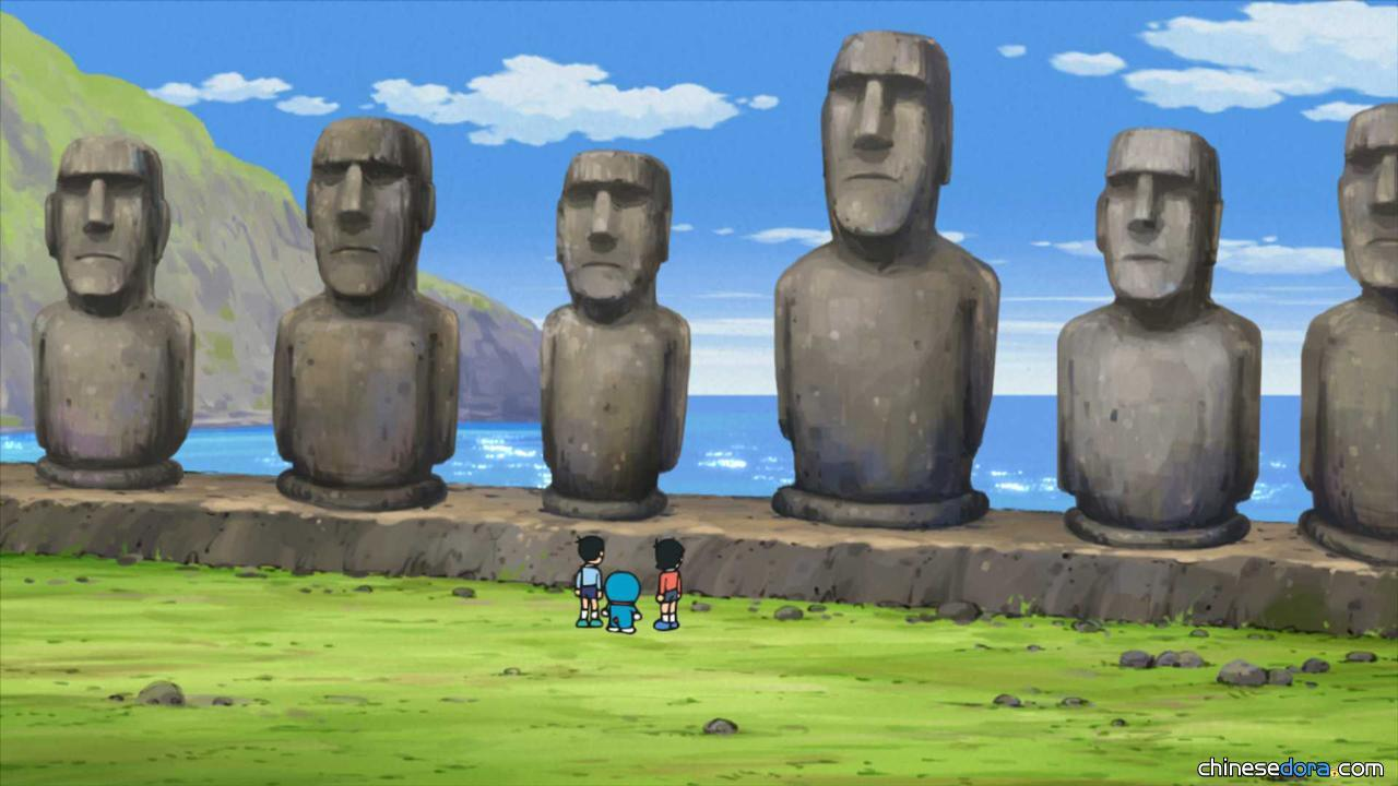 #1037 復活節島的摩艾石像(イースター島のモアイ)