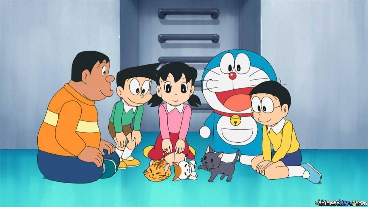 #1051 哆啦A夢變成貓了(ネコになったドラえもん)